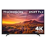 THOMSON 65UG6300 - Televisor LED de 65 pulgadas, Smart TV con 4K UHD, Dolby Audio