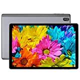 LNMBBS 610 Tablet de 10 Pulgadas, 5G WiFi Android 10.0, procesador de 8 núcleos a 1.8Ghz Tablet PC, 1920 * 1200 Full HD, 4GB RAM, 64GB ROM, cámara de 8MP + 2MP, WLAN, GPS, Bluetooth(Gray)