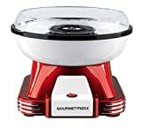 Gourmet Maxx 07329 Máquina de azúcar para casa | Ideal para Cumpleaños infantiles | 500 W | Rojo de color blanco