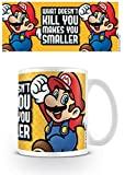 Pyramid International AFMG24469 Super Mario (Make You Smaller) - Taza de café y té (cerámica, 11 x 11 x 1,3 cm)